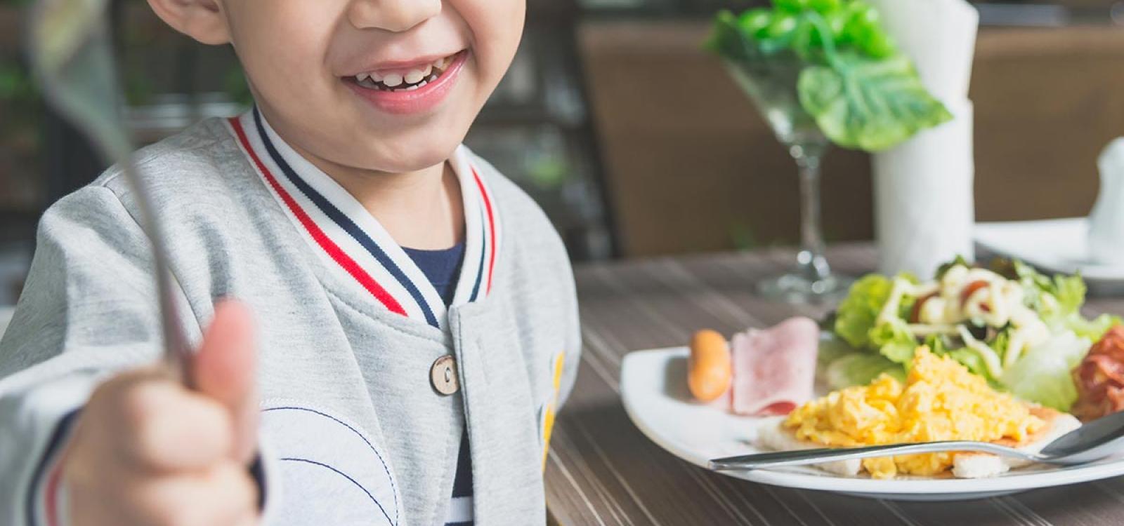 El menú equilibrado y perfecto para niños
